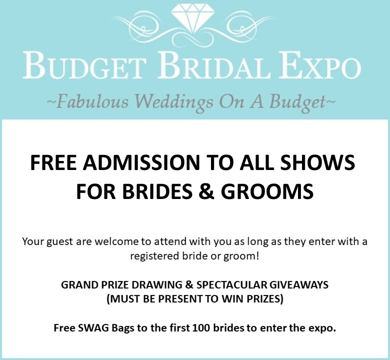 Budget Bridal Expo October 14 2018 Dearborn Detroit Wedding Day